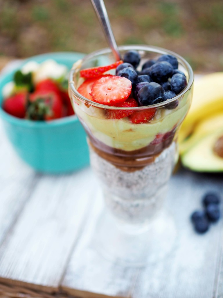 5 Layer Chia Seed Pudding