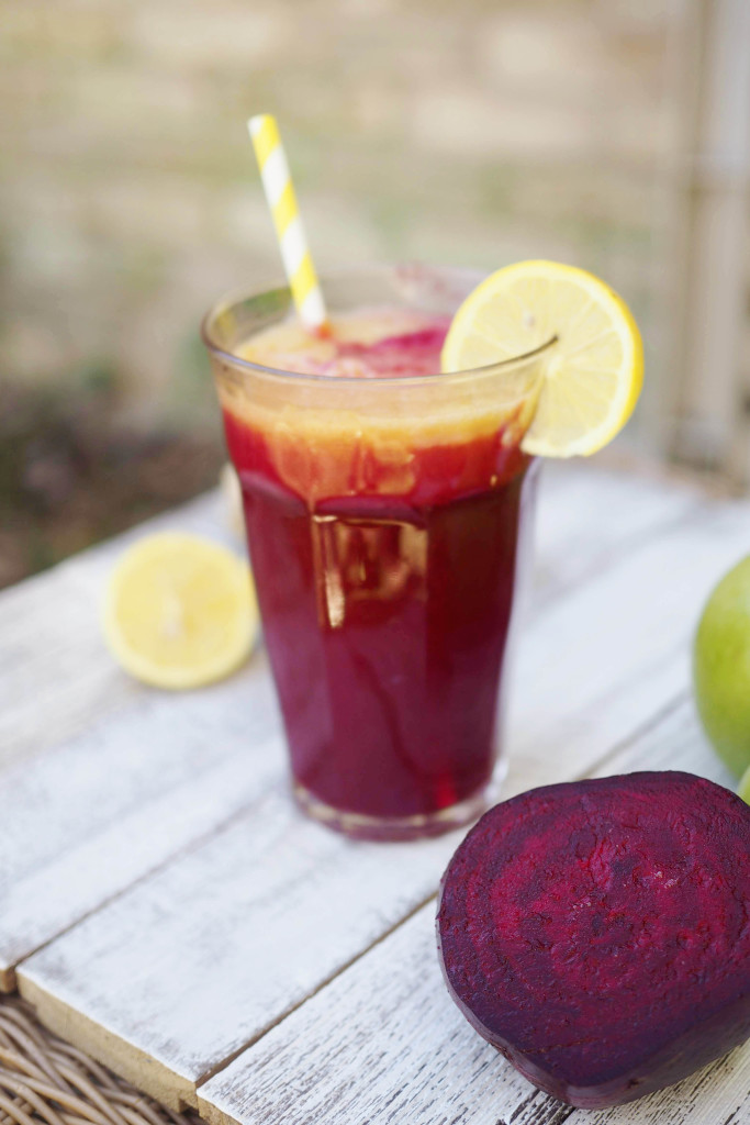 Apple Beet Lemonade