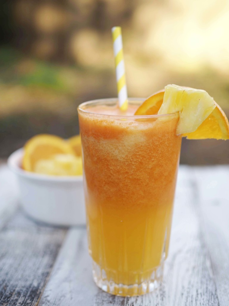 Orange Pineapple Carrot Juice