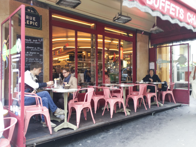 A Day in Montmartre and the Cafe from Amelie