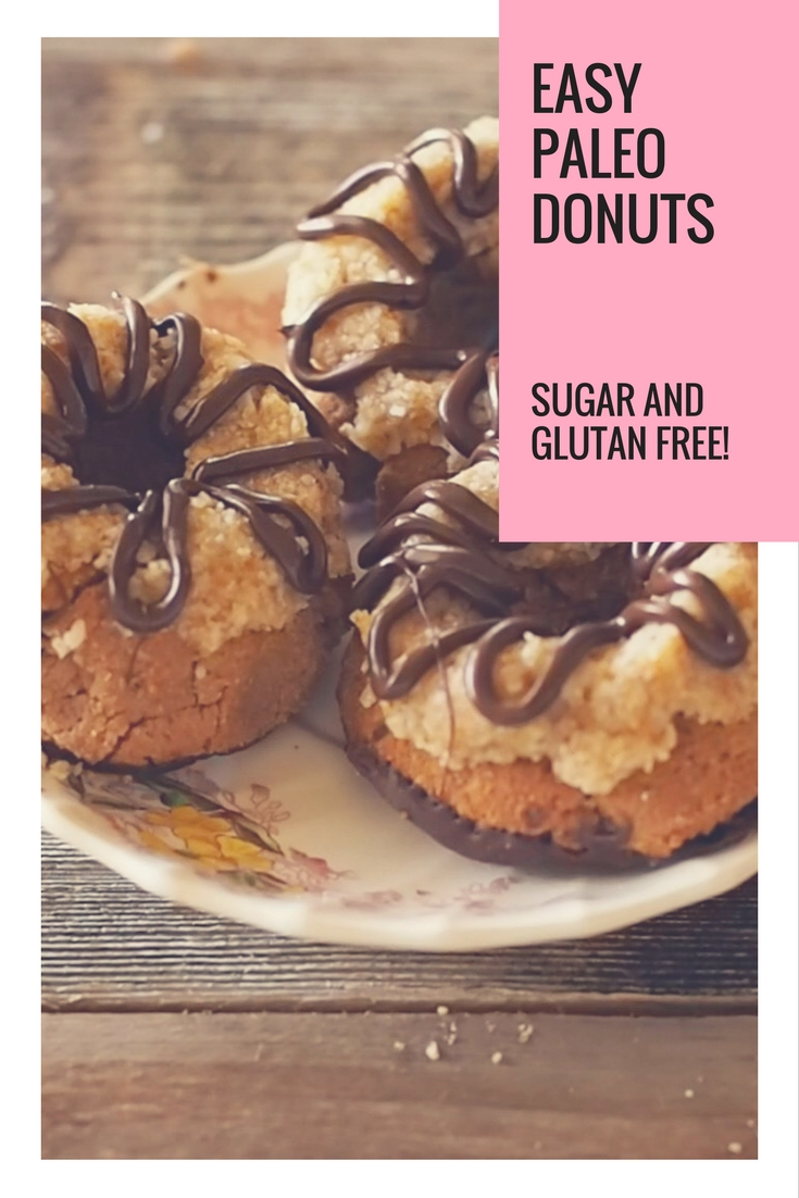 Quick and Easy Paleo Donuts